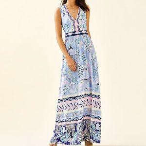 Lilly Pulitzer McKinley Maxi Dress Sz 4 NEW